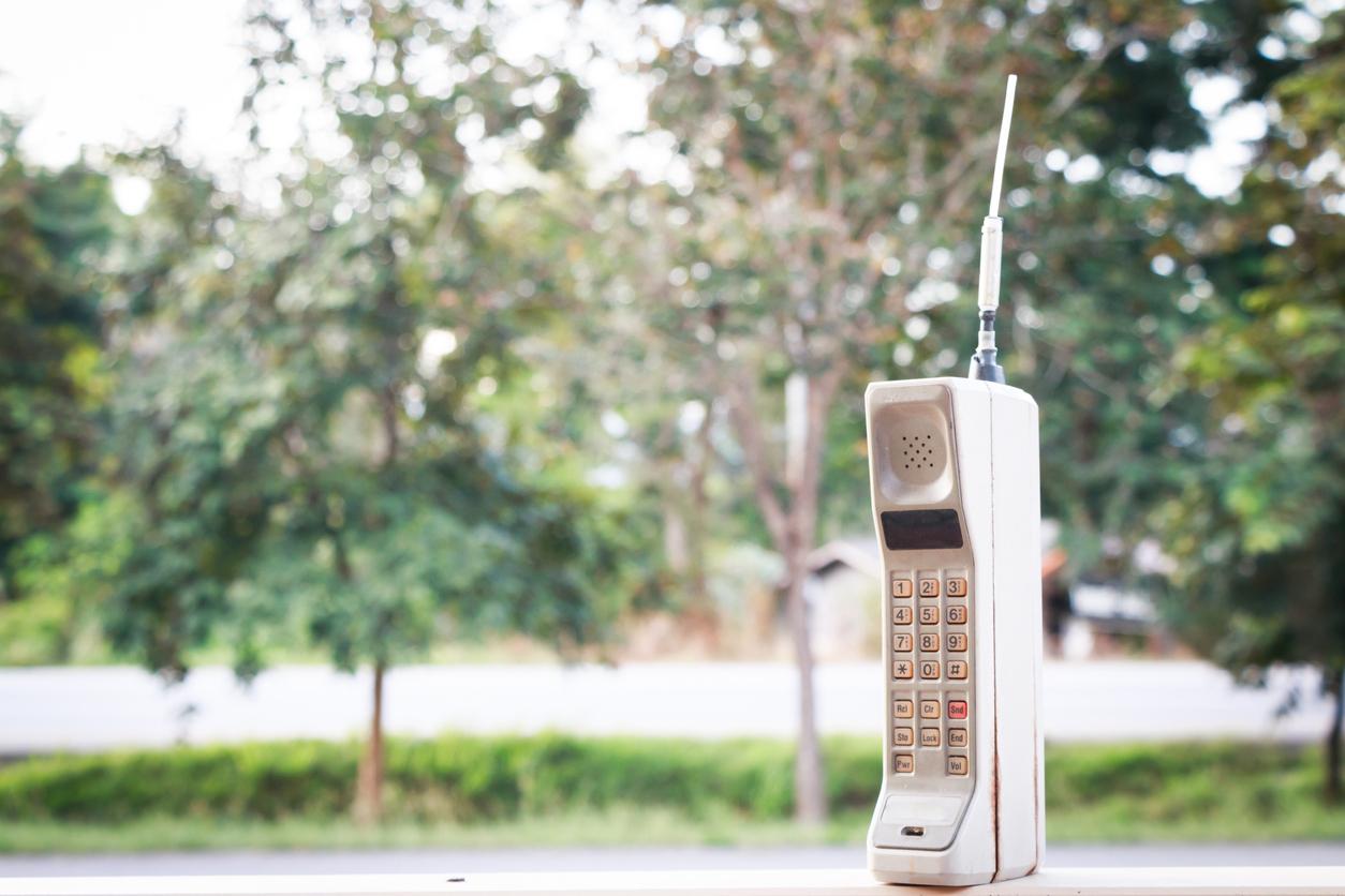 Je hebt toch ook je telefoon uit de jaren 80 vervangen?